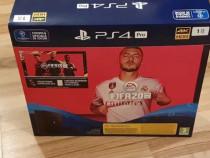 Sony PlayStation 4 Black Slim, 1TB, Negru + Joc FIFA 20
