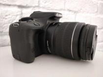Canon EOS 100D EF-S Obiectiv 18-55 mm+accesorii