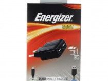 Set Incarcator 2xUSB Energizer + Cablu de date Nokia vechi