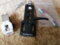 Headshell TECHNICS echipat complet, nou