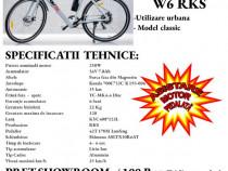 Bicicleta electrica City , tip semicursa clasica RKS W6, 250