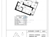 TOMIS PARK - Apartament 2 camere - Euromaterna - Comision 0%