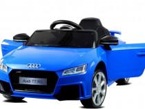 Masinuta electrica Audi TT RS 60W 12V STANDARD #Albastru