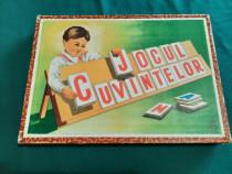 Joc vechi românesc* jocul cuvintelor* 1960