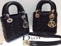 Genti C.Dior mini new model,Franta,saculet inclus