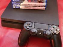 Ps 4 slim / Playstation 4 / 1 controller / 500gb / +4 JOCURI