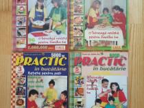 4 reviste-Practic în bucăt.(nr.3;5;6;7din2000)