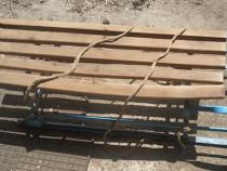 Sanie din metal + lemn pentru copii