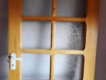 Usi. usi +geamuri din lemn masiv