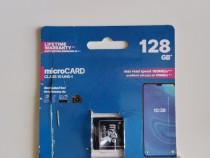 Card 128 GB, nou, deschis pentru proba, calitate.
