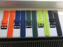 Curele silicon Huawei Watch 3, Watch 3 Pro