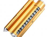 Suport telefon, Cu odorizant,placuta numartelefon, Gold C610