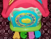 Jucarie bebelusi - Casuta cu activitati