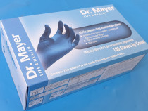 "MANUSI albastre NITRIL, marimea ""M"", DR. MAYER - Germania !!"