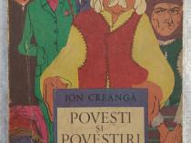 Carte Povesti si povestiri - Ion Creangă, 1974
