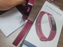 Bratara fitness Fitbit Inspire, Sangria