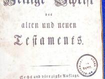 C946-I-BIBLIE veche anul 1848-Vechiul si Noul Testament.