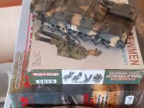 Diverse kituri/machete militare+vopsele, adeziv, div. unelte