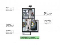 Apartament 1 camera in Apahida Phoenix Residence