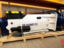 Picoane - Picamer Hydraulic SIK hammer 125 pt. excavatoare