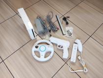 Consola Wii cu accesorii si zeci de jocuri Mario Wii Sports