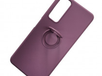 Husa Telefon Silicon Huawei P Smart 2021 Liquid Purple Ring