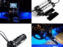 Lumini ambientale masina TY 780, auto, int, LED, ICE Blue