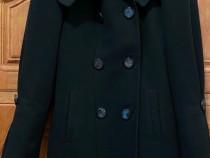 Palton de iarna negru, marimea M