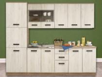 Mobilă de bucătărie Kent, chiuvetă și baterie incluse