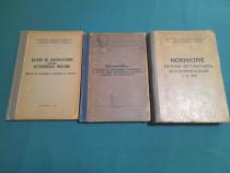 LOT 3 CĂRȚI EXPLOATARE TEHNICĂ MILITARĂ/ ANII 1970