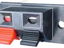 Conector boxe 2 pini, montare pe panou - 123651