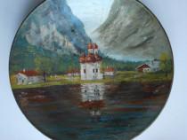 Farfurie ceramica pictata