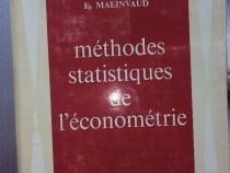 Methodes statistiques de l'econometrie , Edmond Malinvauld