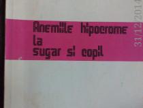 Anemiile hipocrome la sugar si copil ,Prof. Dr. V Popescu