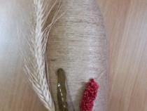Sticla ornata hand made