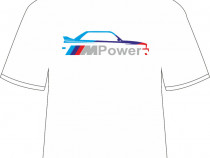 "Tricou personalizat ""BMW E30 - ///MPower"""