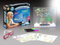 Tabla magica cu desene 3D – Draw and Glow