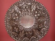 Fructiera din argint lucrata manual