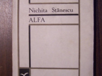Alfa - Nichita Stanescu (prima editie, 1967)