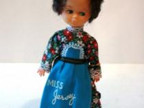 Papusa vintage de colectie- port traditional-Miss Jersey