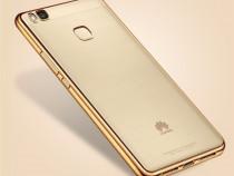 Huawei P9 Lite - Husa ultra Slim 0.3mm Din Silicon Gold