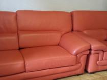 Canapele canapea 3 2 1 piele