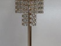 Sfesnic nunta/botez simplu cu cristal auriu