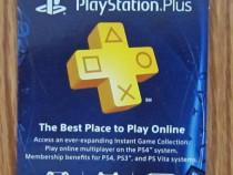 PS Plus Playstation 4 Plus 3/12 luni ( PS4 , PS3, Vita, PS+)