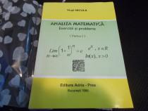 Analiza matematica, exercitii si probleme - Virgil Nicula