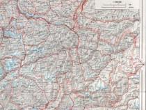 Elvetia - harta 1:900.000
