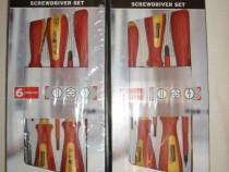 Powerfix  profi, germania, set 6 surubelnite, nou, la cutie