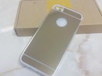 Husa silicon tip oglinda pentru telefon Iphone 5 si 5 S.