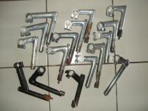 Pipe Cursieră Dur Aluminiu