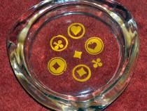 2 scrumiere sticlă